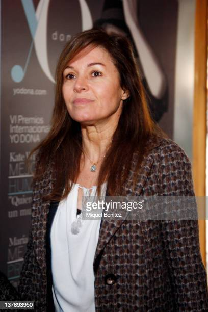 Candela Tiffon attends the TCN's photocall on January 25 2012 in Barcelona Spain