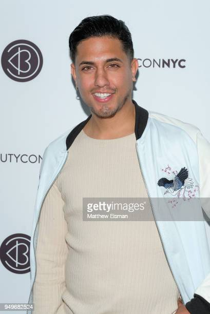 Candelaria attends Beautycon Festival NYC 2018 Day 1 at Jacob Javits Center on April 21 2018 in New York City