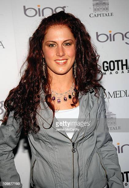 Candi Lynn attends Gotham Magazine's Annual Gala hosted by Alicia Keys and presented by Bing at Capitale on March 15 2010 in New York City
