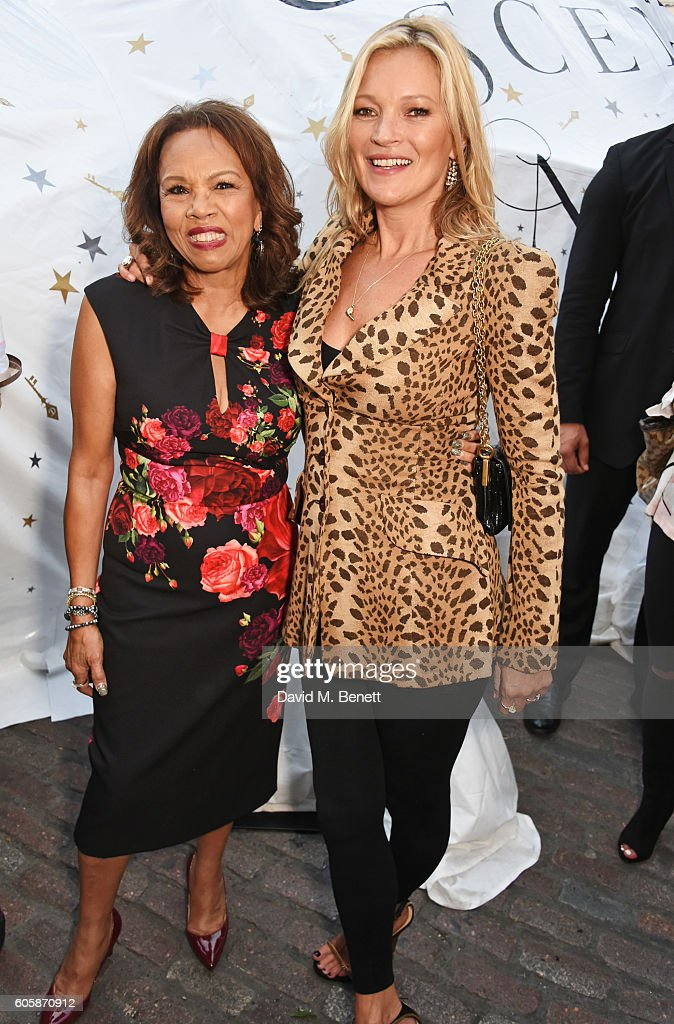 Charlotte Tilbury Celebrates The Launch Of Her First Fragrance With 'Face' Kate Moss : News Photo