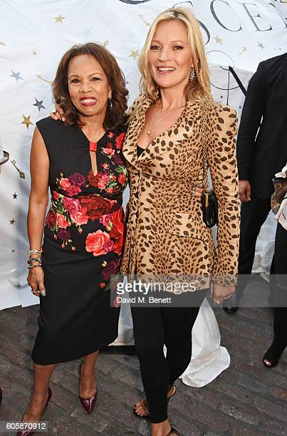 Candi Staton and Kate Moss attend as Charlotte Tilbury celebrates the launch of her first fragrance Scent Of A Dream with 'face' Kate Moss featuring...