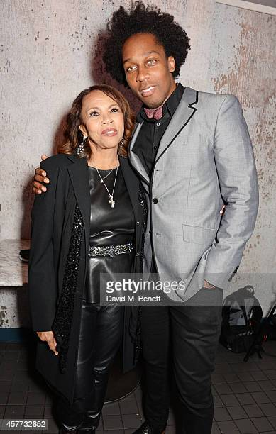 Candi Staton and Lemar attend the press night performance of 'Memphis The Musical' at The Floridita on October 23 2014 in London England