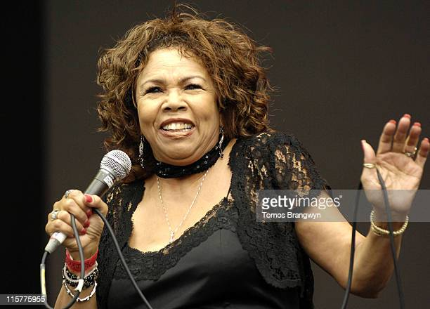 Candi Staton during Lovebox Weekender 2006 – Day 1 at Victoria Park in London Great Britain