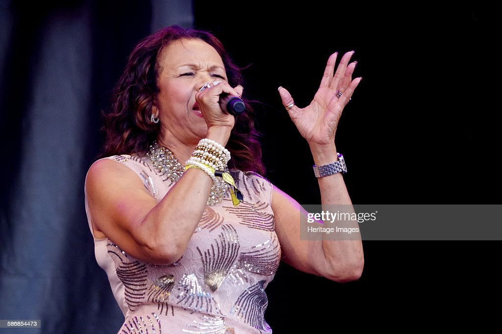 Candi Staton, Love Supreme Jazz Festival, Glynde Place, East Sussex, 2015 : News Photo