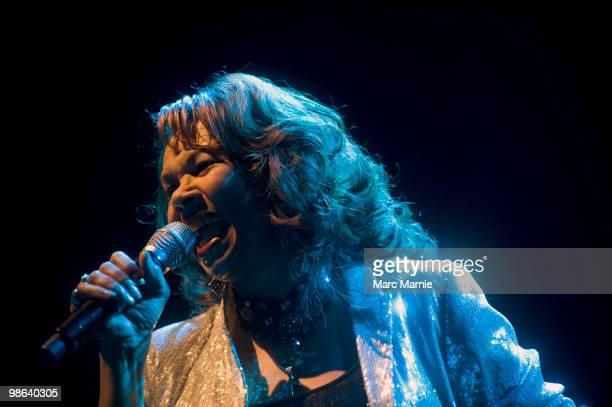 Candi Staton performs at HMV Picture House on April 23 2010 in Edinburgh Scotland