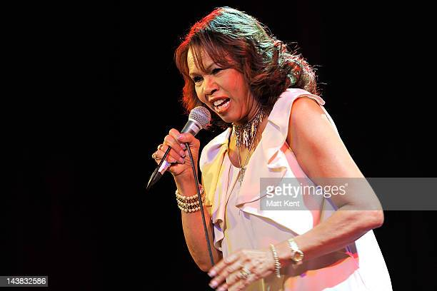Candi Staton performs on stage at Islington Assembly Hall on May 4 2012 in London United Kingdom