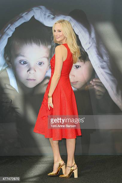 Candice Accola attends photocall for 'Vampires Diaries' at the Grimaldi Forum on June 17 2015 in MonteCarlo Monaco