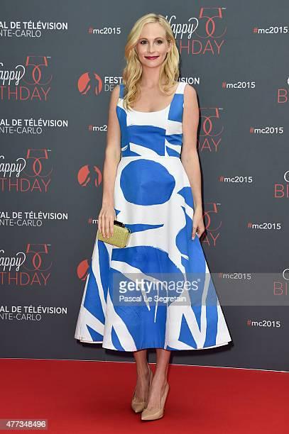 Candice Accola attends the 55th Monte Carlo Beach anniversary as part of Monte Carlo TV Festival on June 16 2015 in MonteCarlo Monaco