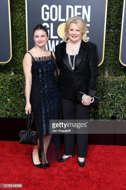 Candice Bergen and Chloe Malle attend the 76th Annual Golden Globe Awards at The Beverly Hilton Hotel on January 6, 2019 in Beverly Hills, California.