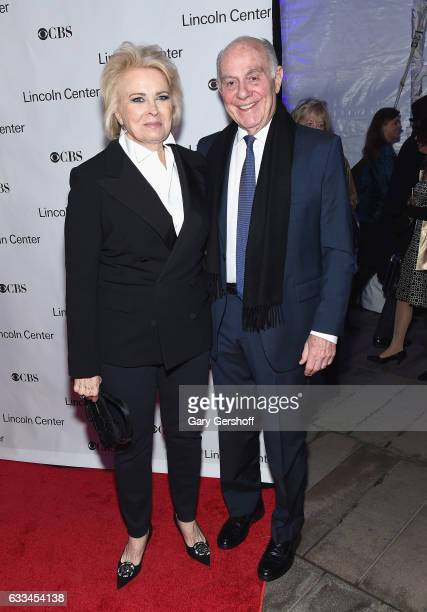 Candice Bergen and husband Marshall Rose attend the 2017 American Songbook gala at Alice Tully Hall Lincoln Center on February 1 2017 in New York City