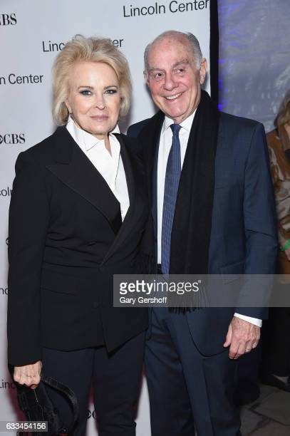 Candice Bergen and husband Marshall Rose attend the 2017 American Songbook gala at Alice Tully Hall, Lincoln Center on February 1, 2017 in New York...