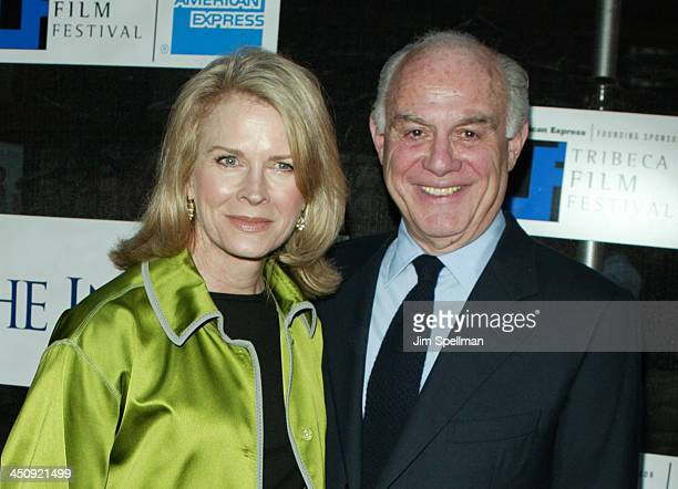 Candice Bergen and husband Marshall Rose during 2003 Tribeca Film Festival - Premiere of The In-Laws at Tribeca Performing Arts Center in New York...