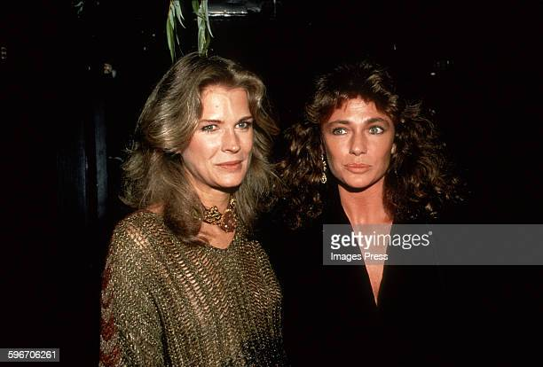 Candice Bergen and Jacqueline Bisset circa 1981 in New York City