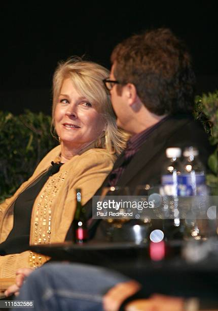 Candice Bergen and James Spader during The Academy of Television Arts Sciences Presents An Evening With 'Boston Legal' at Leonard H Goldenson Theater...