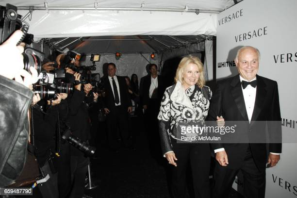 Candice Bergen and Marshall Rose attend 2009 WHITNEY Gala and 2009 WHITNEY Studio Party at The Whitney on October 19 2009 in New York City