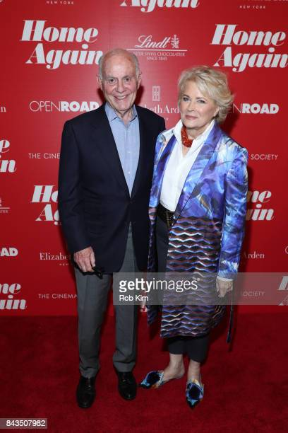 "Candice Bergen and Marshall Rose attend a screening of Open Road Films' ""Home Again"" hosted by The Cinema Society at The Paley Center for Media on..."