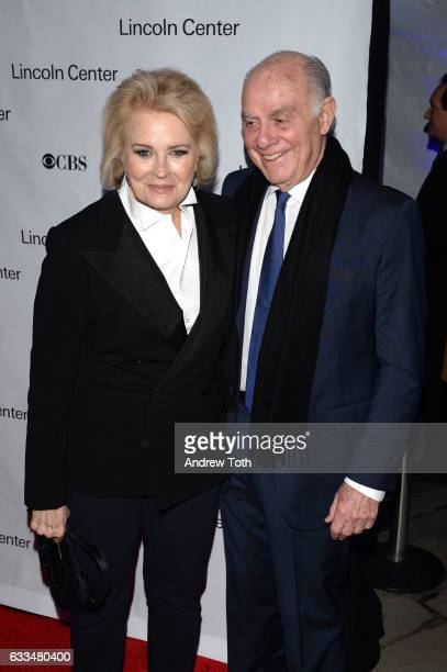 Candice Bergen and Marshall Rose attend the 2017 American Songbook Gala at Alice Tully Hall Lincoln Center on February 1 2017 in New York City