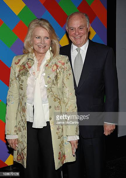Candice Bergen and Marshall Rose attend the 41st annual Party in the Garden at The Museum of Modern Art on May 26, 2009 in New York City.