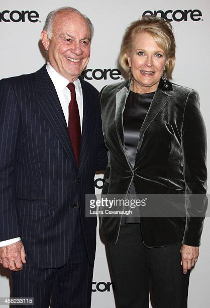Candice Bergen and Marshall Rose attend the Murphy Brown 25th anniversary event at the Museum of Modern Art on December 11 2013 in New York City
