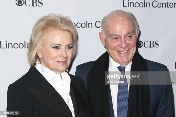 Candice Bergen and Marshall Rose attends the 2017 American Songbook Gala at Alice Tully Hall on February 1 2017 in New York City