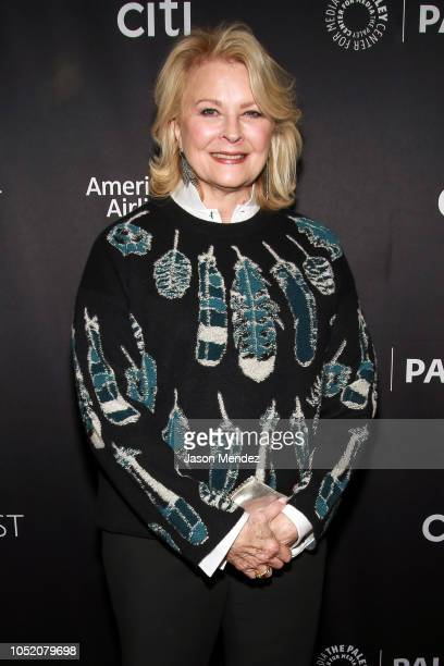 Candice Bergen at The Paley Center for Media on October 13 2018 in New York City