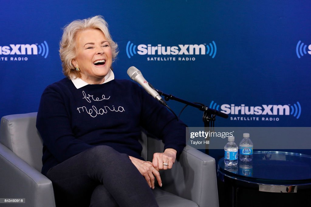 Candice Bergen attends a Town HAll on SiriusXM Leading Ladies at the SiriusXM Studios on September 6, 2017 in New York City.