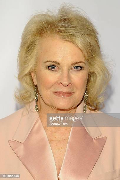 Candice Bergen attends Museum of the Moving Image honors Julianne Moore at 583 Park Avenue on January 20 2015 in New York City