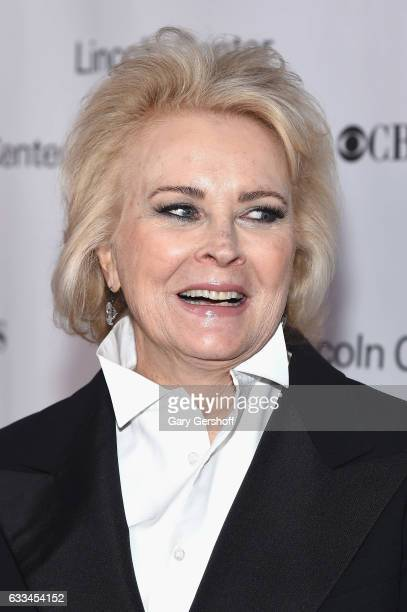 Candice Bergen attends the 2017 American Songbook gala at Alice Tully Hall Lincoln Center on February 1 2017 in New York City