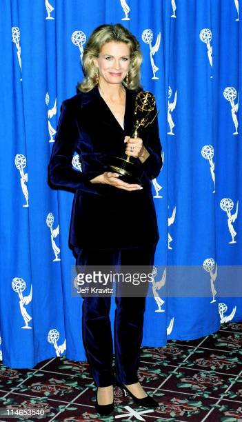 Candice Bergen during 1993 Emmy Awards Press Room in Los Angeles CA United States