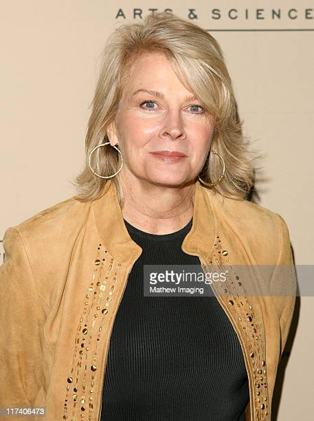 Candice Bergen during Academy of Television Arts Sciences An Evening with 'Boston Legal' at Leonard H Goldenson Theater in North Hollywood California...