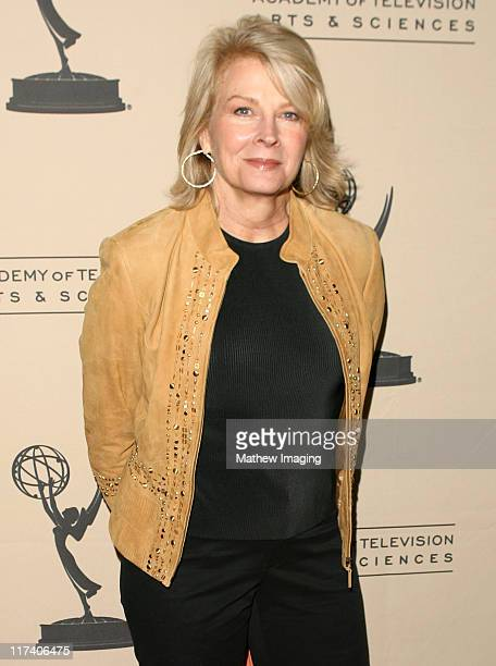 Candice Bergen during Academy of Television Arts Sciences An Evening with Boston Legal at Leonard H Goldenson Theater in North Hollywood California...
