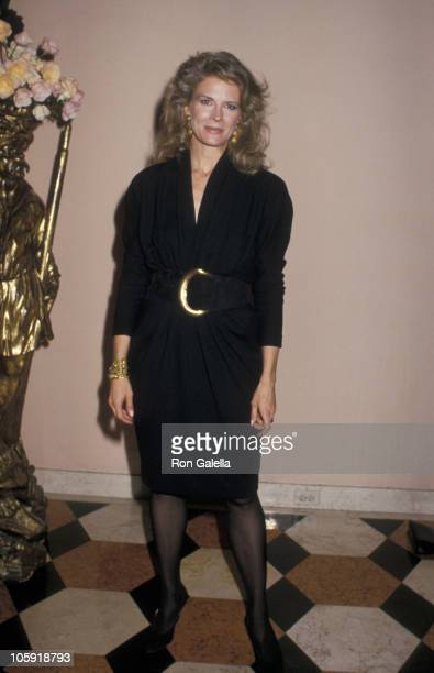 Candice Bergen during Au Revoir Les Enfants Premiere at Cinema I in New York City New York United States