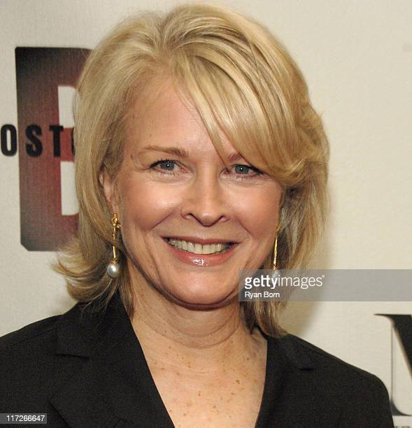 Candice Bergen during Boston Legal Celebrates It's Season One DVD Debut at The 21 Club in New York City New York United States