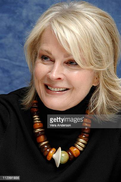 """Candice Bergen during """"Boston Legal"""" Press Conference with Candice Bergen, William Shatner and James Spader at Regent Beverly Wilshire in Beverly..."""