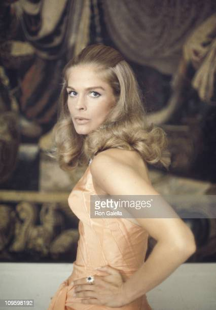 Candice Bergen during Film Set of The Adventurers September 3 1968 in Rome Italy