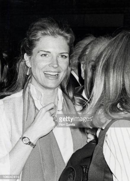 Candice Bergen during Mick Jagger's Birthday Party May 2 1978 at Studio 54 in New York New York United States