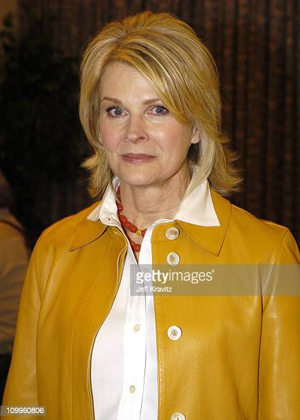 Candice Bergen during MTV TCA Day Green Room at Universal Hilton Hotel in Los Angeles California United States