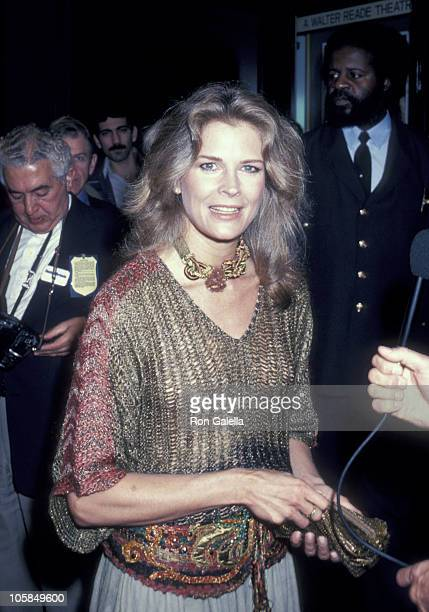 Candice Bergen during 'Rich and Famous' New York Premiere at Ziegfeld Theater in New York City New York United States