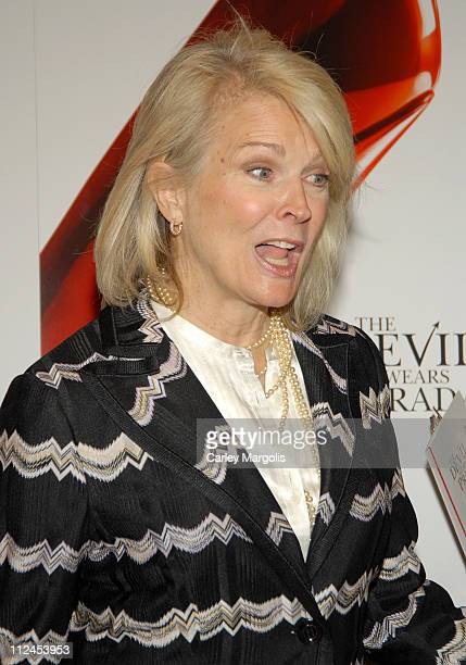 Candice Bergen during 'The Devil Wears Prada' A Dinner and Private Auction Hosted by the St Regis Hotel May 23 2006 at St Regis Hotel in New York...