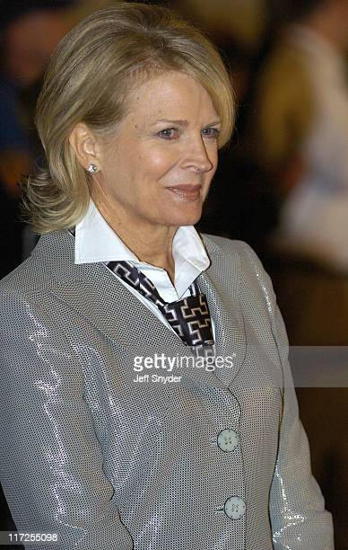 Candice Bergen during The Mark Twain Prize for American Humor at The Kennedy Center in Washington DC
