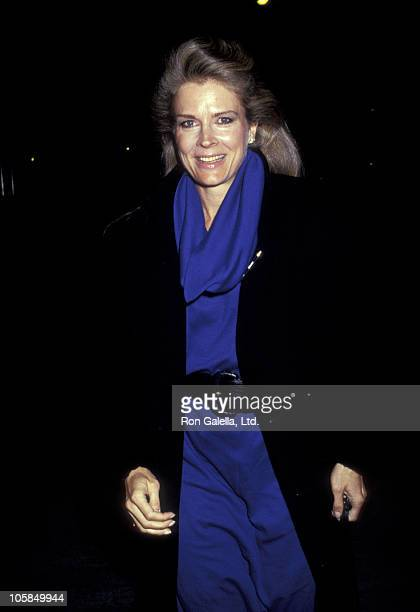 Candice Bergen during 'Tin Men' Premiere at Museum of Modern Art in New York City NY United States
