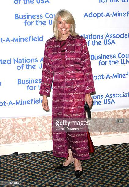 Candice Bergen during United Nations Association 2002 Global Leadership Awards at Sheraton Hotel in New York City New York United States