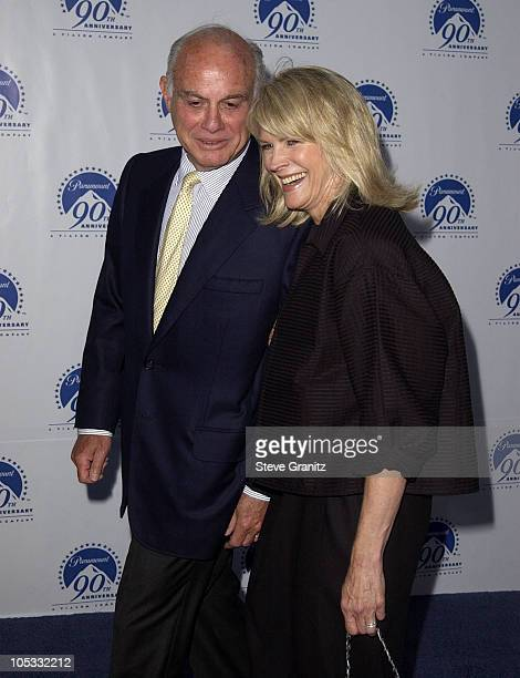 Candice Bergen & husband Marshall Rose during Paramount Pictures Celebrates 90th Anniversary With 90 Stars for 90 Years at Paramount Pictures in Los...