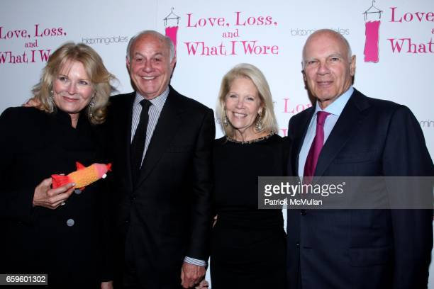 Candice Bergen Marshall Rose Daryl Roth and Steve Roth attend Opening Night of NORA and DELIA EPHRON'S LOVE LOSS AND WHAT I WORE at The Westside...