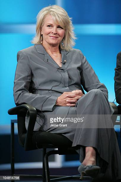 Candice Bergen of Boston Legal during ABC 2005 Summer Press Tour at Beverly Hilton in Beverly Hills California United States