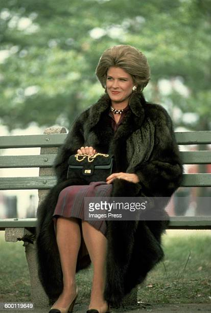 Candice Bergen on movie set circa 1980 in New York City