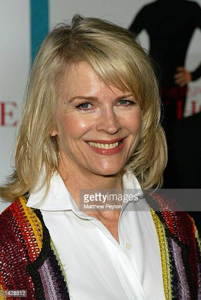 Candice Bergen poses at the world premiere of Touchstone Pictures' Sweet Home Alabama at the Chelsea West Cinema September 23 2002 in New York City...