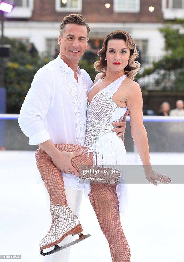 professional figure skater Matt Evers with partner Candice Brown