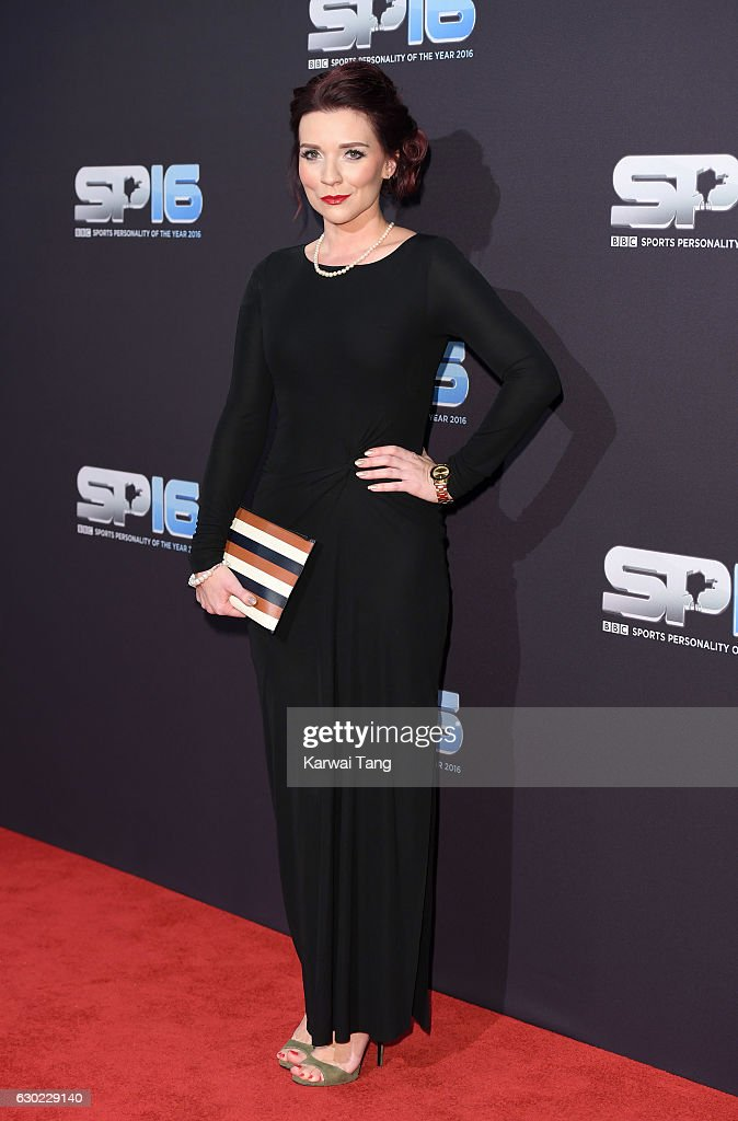 Candice Brown attends the BBC Sports Personality Of The Year at Resorts World on December 18, 2016 in Birmingham, United Kingdom.