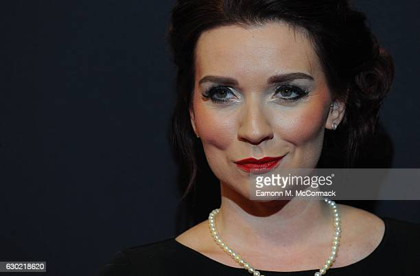 Candice Brown attends the BBC Sports Personality Of The Year on December 18 2016 in Birmingham United Kingdom